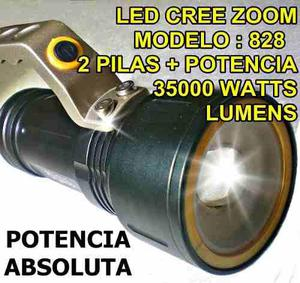 Linterna Tactica 70000 Lumen 35000w Zoom Led Cree Recargable