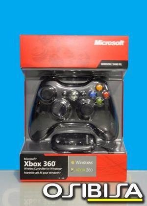 Mando Xbox 360 Y Pc Original Inalambrico Delivery Osibisa