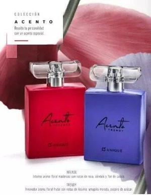 Perfume Acento Intense Y Trendy Unique Mujer Mega Original