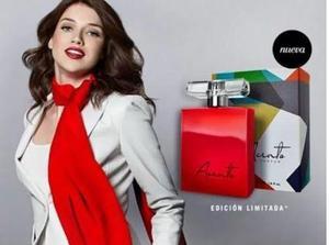Perfume Acento Intense Y Trendy Unique Mujer Super Sellado!
