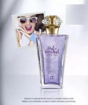 d46e6e181 Perfume dulce vanidad unique mujer mega original y sellado!