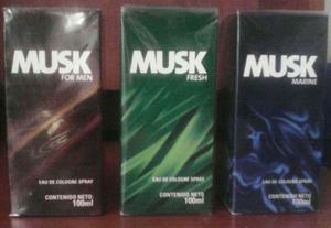 Perfumes Musk De Avon 100% Original De Garantía Total