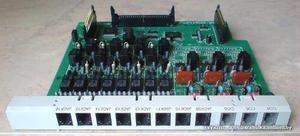 Tarjeta Panasonic Modelo Kx-te82480x 2 Lineas 8 Anexos