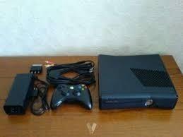 Xbox 360 Slim,juegos,teclado Para El Mando,fuente A 220 Volt