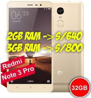 Xiaomi Redmi Note 3 Pro 3gb 2gb Special Edition Caja Sellada