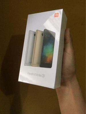 Xiaomi Redmi Note 3 Pro 3gb Ram Special Edition Caja Sellada