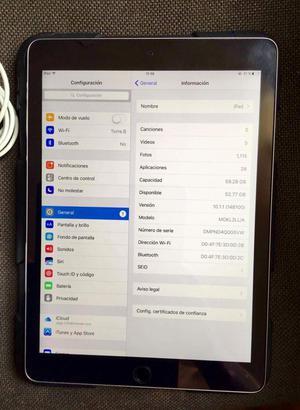 iPad Air 2 de 64gb con accesorios Más case original todo de