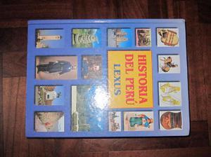 Enciclopedias Lexus dicionario historia del peru