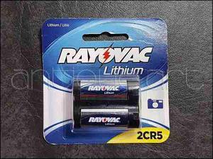 A64 Bateria 2cr5 Rayovac 6v. Lithium Litio Cr5 Sellado