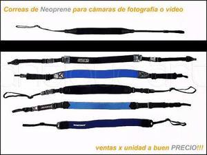A64 Correa Neoprene Camara Fotografica Video Comodas Strap