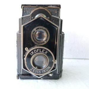 Antigua Cámara Fotográfica Ikoflex Zeiss Ikon 1935 Md
