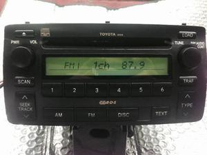 Autoradio Toyota Corolla Radio Cd De 6 Multidisco Operativo
