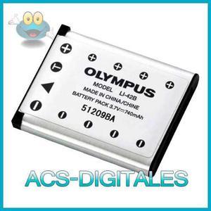 Batería Olympus Li-42b Li-40b Para Cámaras Olympus Y Otras