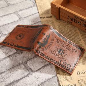 Billetera de Cuero de 100 Dolares