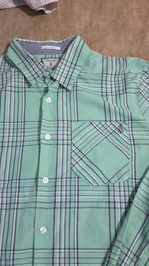 Camisa Volcom S M Rip Curl Hurley Guess