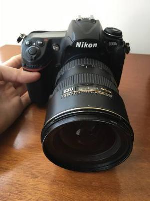 Cámara Fotográfica Nikon D300s + Lente Nikon Dx + Estuche