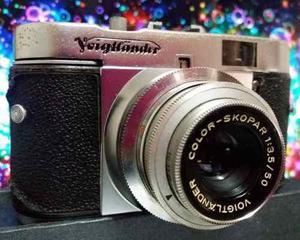 Cámara Fotográfica Voightlander Vito B (1955),estuche