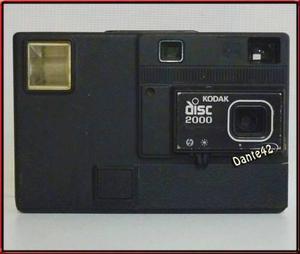 Dante42 Antigua Camara Fotografica Kodak Disc 2000