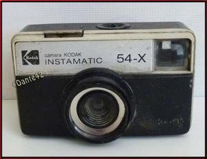 Dante42 Kodak Camara Fotografica Antigua Instamatic 54x