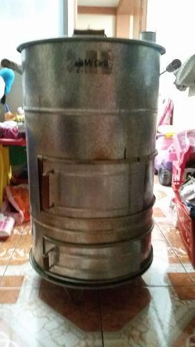 Horno De Cilindro Grande Mr Grill Capacidad Para 6 Pollos Y1