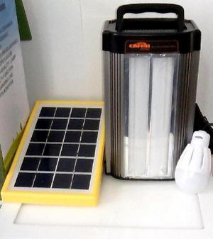 Kit Portátil De Iluminación De Energía Solar De 2 y