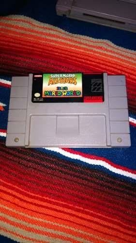 Mario All Stars & Super Mario World Para Super Nintendo Snes