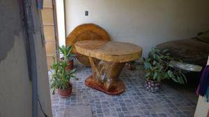 Mesas de restaurant tipo rustico posot class - Mueble bar rustico ...