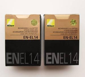 Nikon Batería Original En-el14 En Caja Nuevo D5300 D5200..