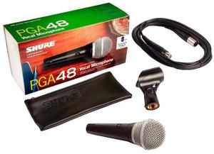 Shure Pga48 Microfono Vocal