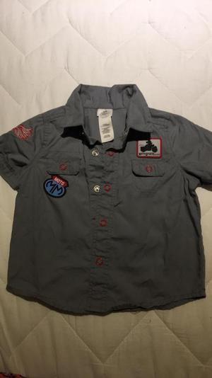 Vendo Camisa Talla 6-12 Meses Mickey Mou