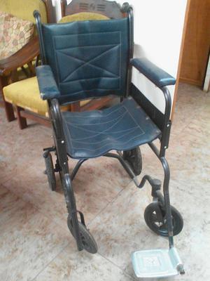 silla de ruedas usada.