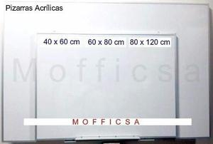 2 Pizarras Acrilicas 80 X 120 Por 140s/ Por Adicional 65s/.