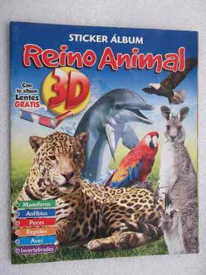 Album Reino Animal 3d