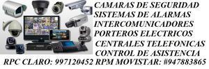 CAMARAS DE SEGURIDAD DVR CCTV VENTAS Y SERVICIO