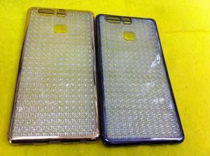 Cover Elegantes De Gel Con Bordes Para Huawei P8 Lite Y P9