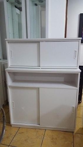 Mueble Toallero Y Mueble Alto Para Almacenar Tintes