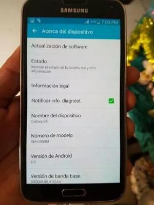 Vendo Cambio Samsung Galaxy S5 Libre