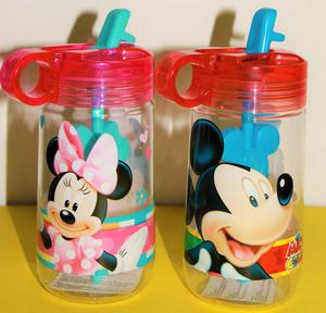 Botella de agua_ Disney – Minnie y Mickey Mouse