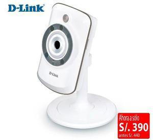 Dcs 942l Cámara Ip Dlink Inalámbrica Indoor Vigilancia