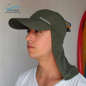 Gorro con proteccion solar cubre nuca y orejas protección efb4489e588