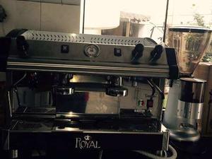 Máquina Cafetera Royal De 2 Grupos
