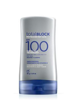 Protector Solar Total Block Spf100