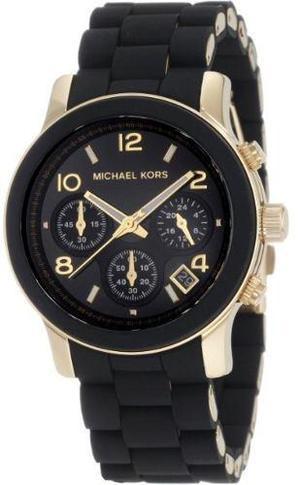 Reloj Michael Kors Mk  Negro Y Dorado