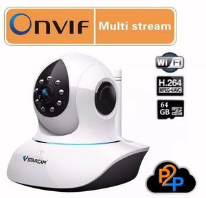 Camara Ip Hd Wifi Dvr Robotica Vision Nocturna Alarma Sonido