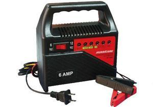 Cargador De Baterias De Auto O Moto De 12 Y 6 Voltios 6 Amp