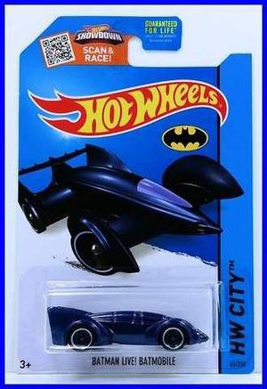 Hot Wheels The Batmobile Tv Series Juguete Carro Posot Class