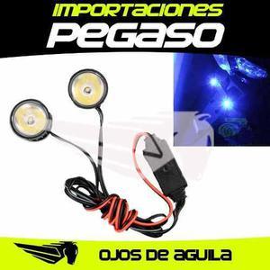 Luz Led Para Moto Ojo De Aguila S/25 Importaciones Pegaso
