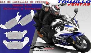 Pastilla De Freno Yamaha R15 Delanteras Y Posteriores @tv