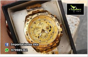 RELOJ CASIO EDIFICE EF 550 GOLD