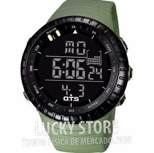 Reloj Tactico Militar Acuatico Ots 50m En Caja 100% Original